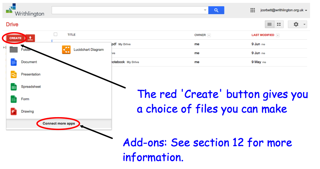 how to change google drive layout