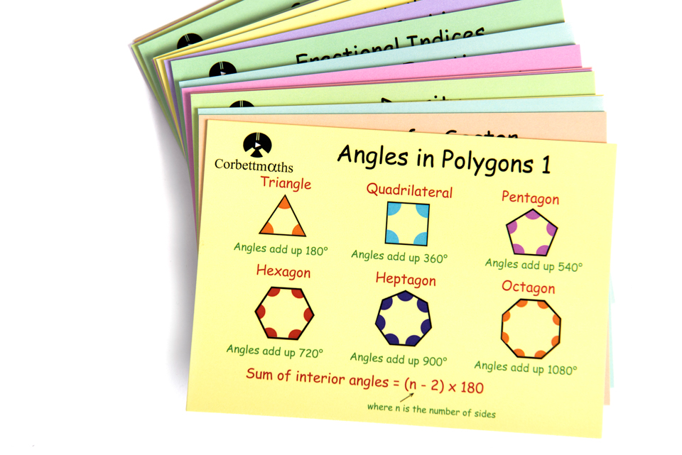 Revision Cards : Corbettmaths